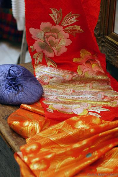 Nuovi progetti: seta e ricami giapponesi