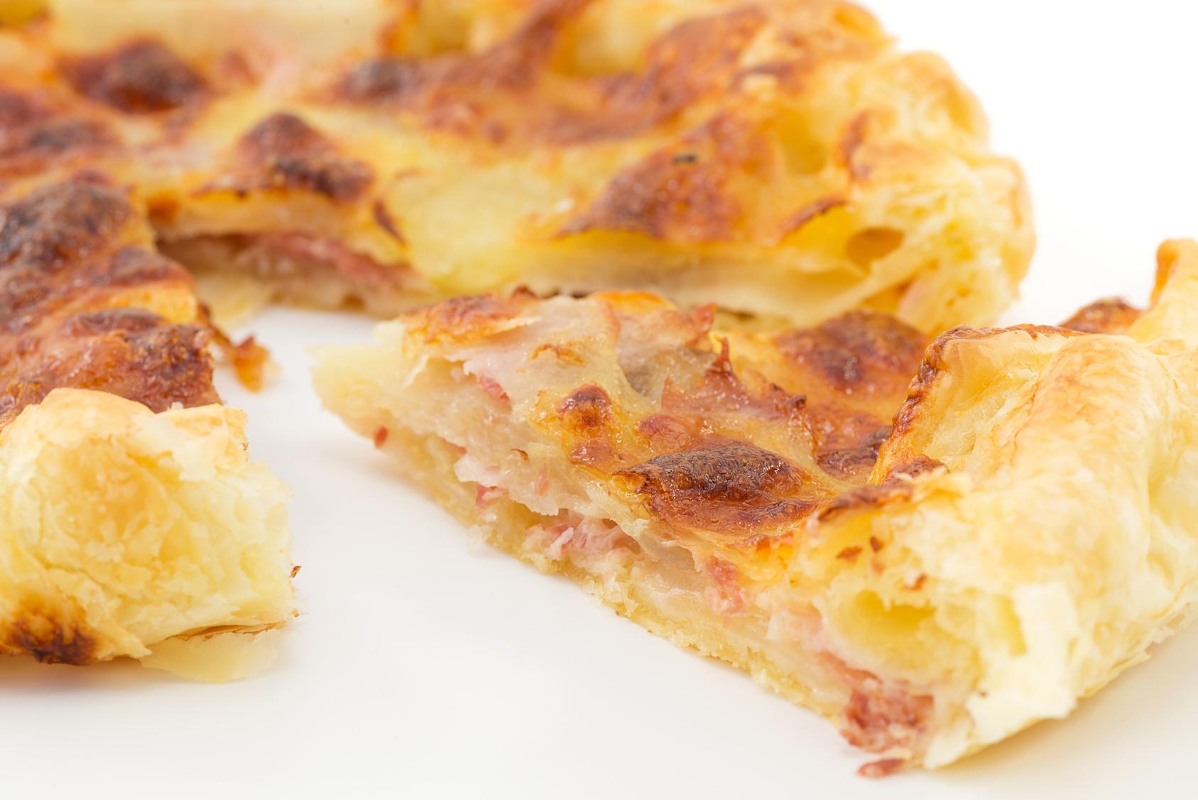 Antipasto per Pasquetta – Torta rustica prosciutto cotto e formaggio