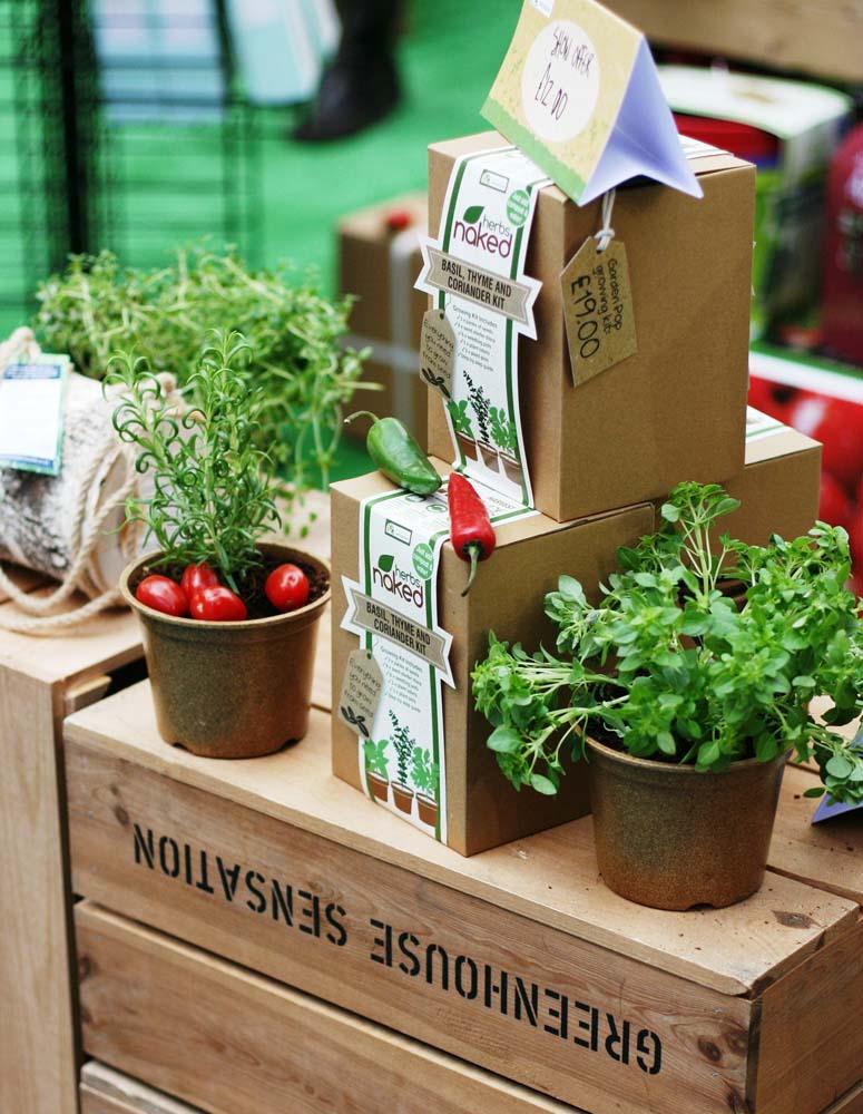 Piantine da orto all'Edible Garden Show!