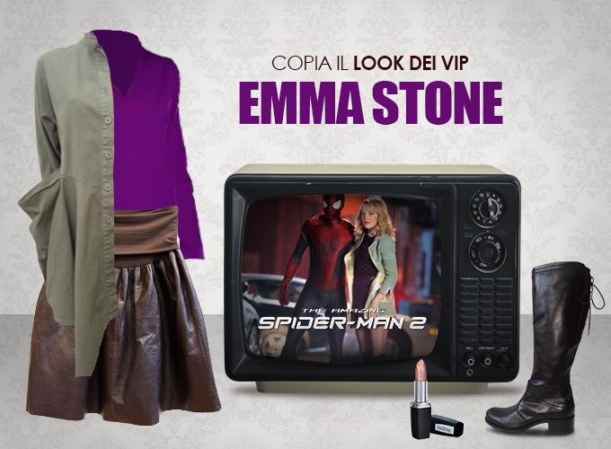 Look dei vip Emma Stone