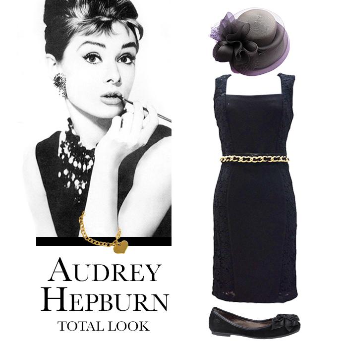 Total look stile Audrey Hepburn