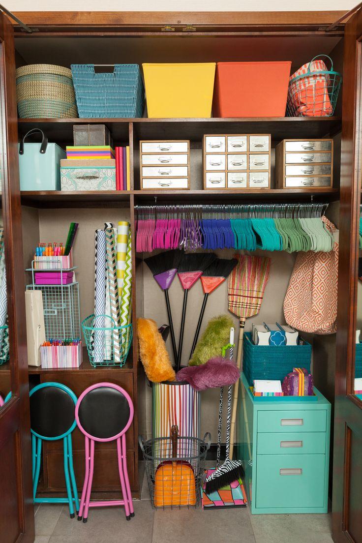 In my closet come organizzare il ripostiglio blog - Organizzare la casa ...