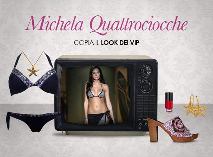 Look vip Michela Quattrociocche