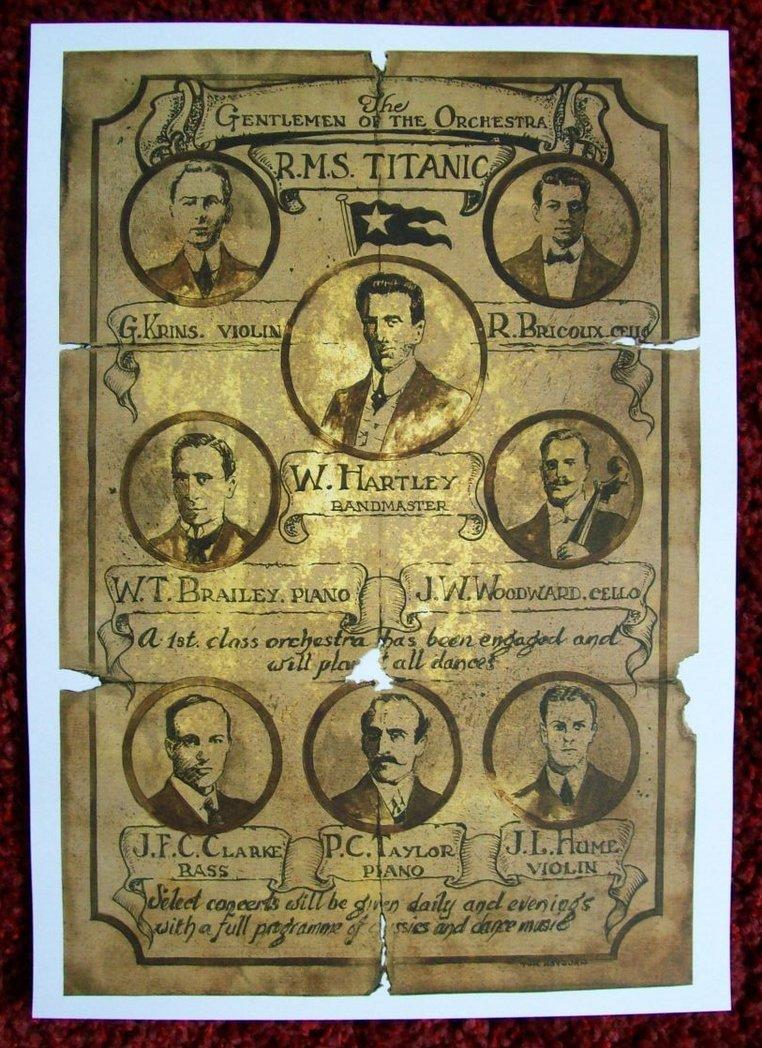Orchestra del Titanic