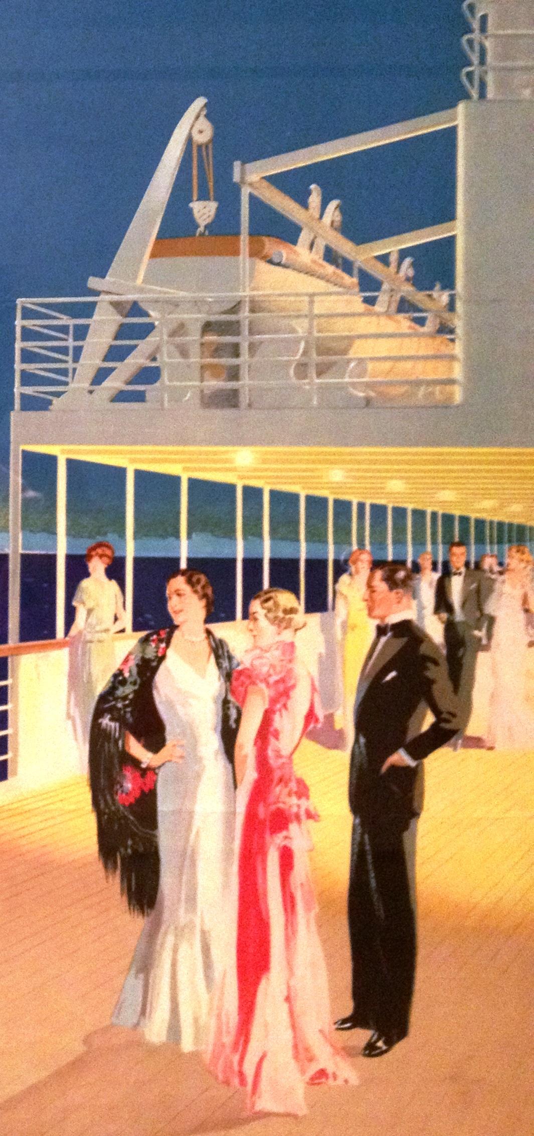 Titanic cartellone pubblicità