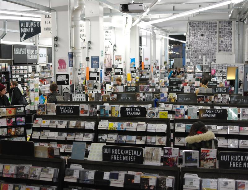 negozio dischi londra