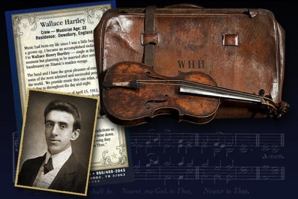 Il primo violino del titanic