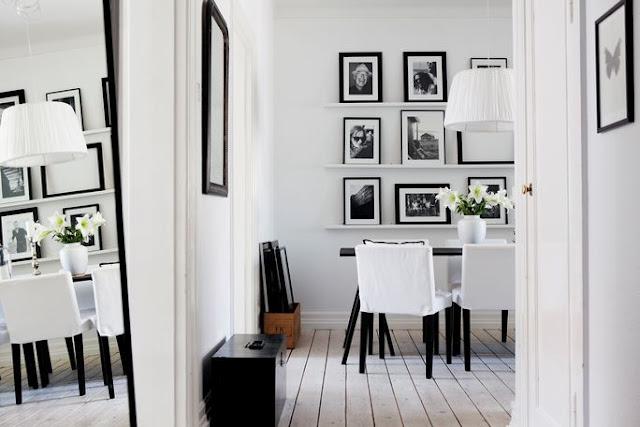 bianco nero salotto_look home