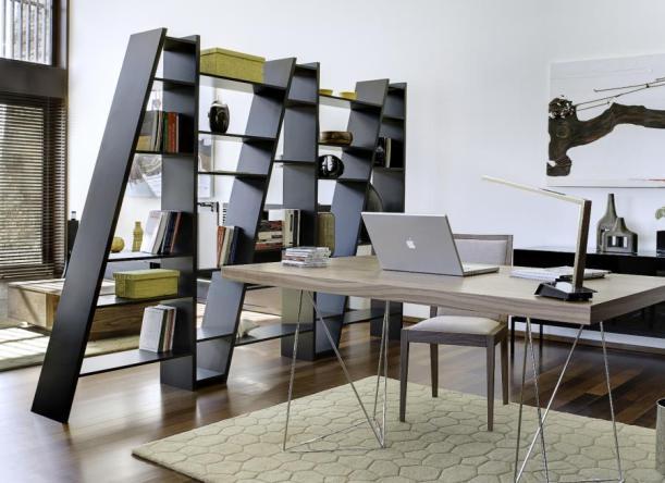 libreria separa ambienti look home