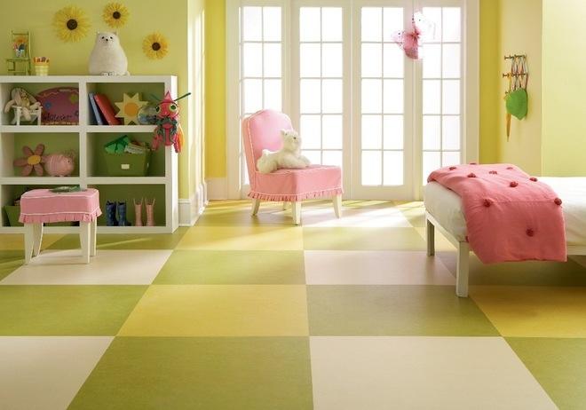 children room floor pvc parquet look home