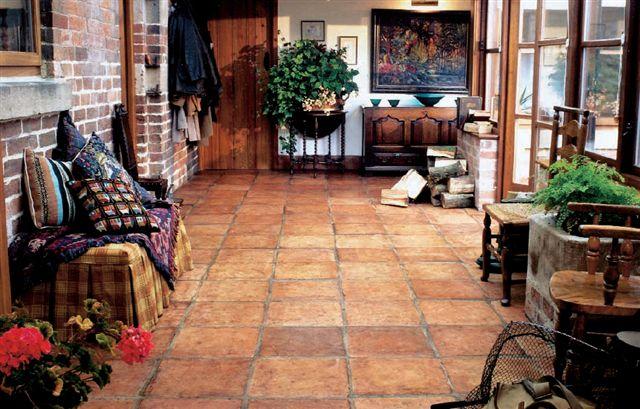 cotto floor interior look home