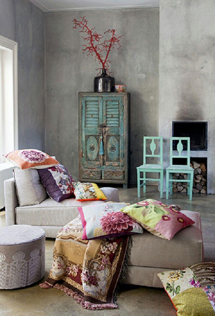 boho style per la casa blog. Black Bedroom Furniture Sets. Home Design Ideas