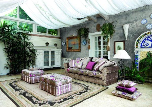veranda bohemienne