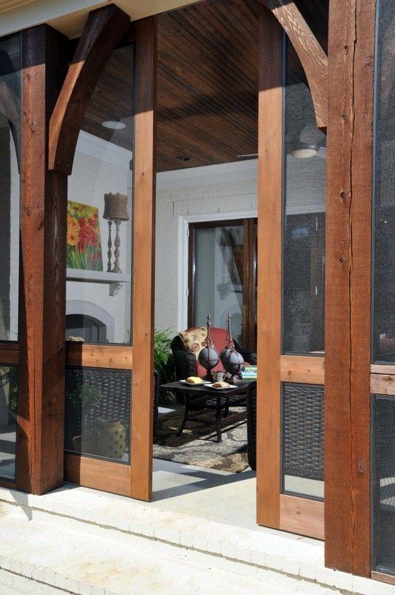 veranda porta scorrevole look home