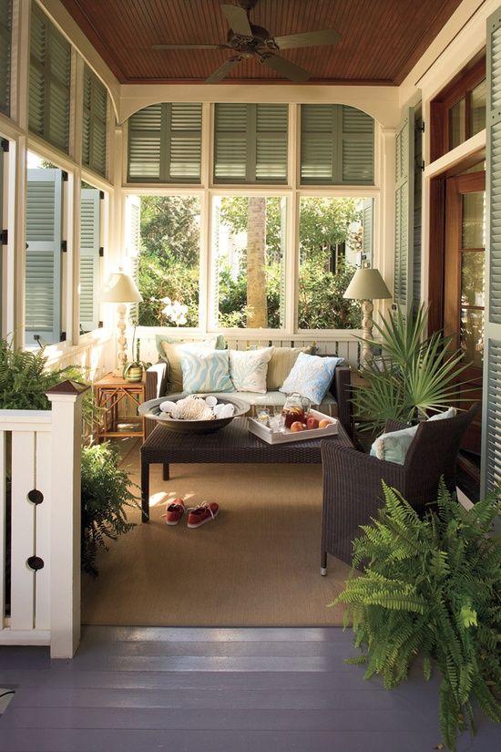 Arredare una veranda si pu blog for Sun porch ideas