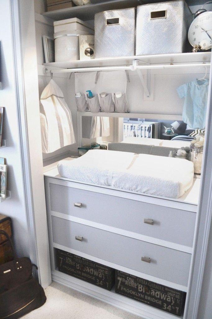 closet baby room look home
