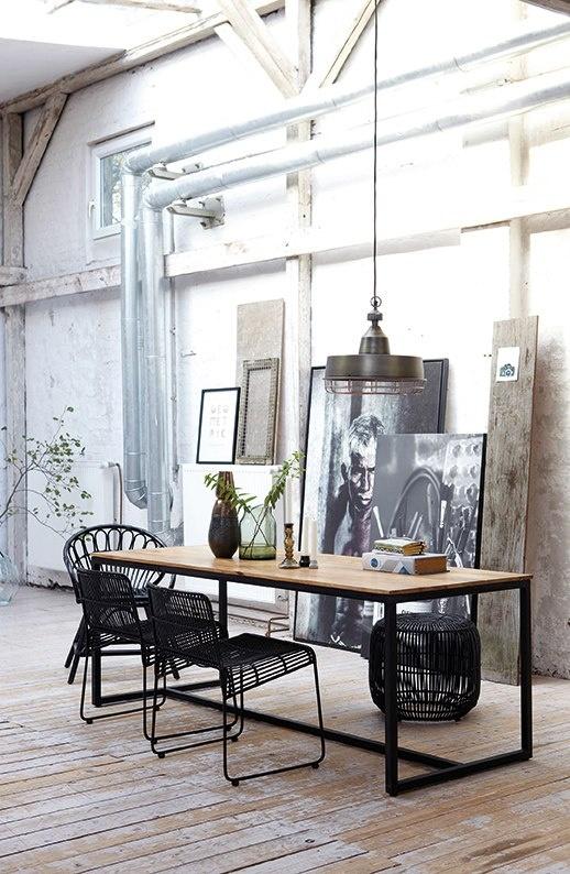 soggiorno industrial look home