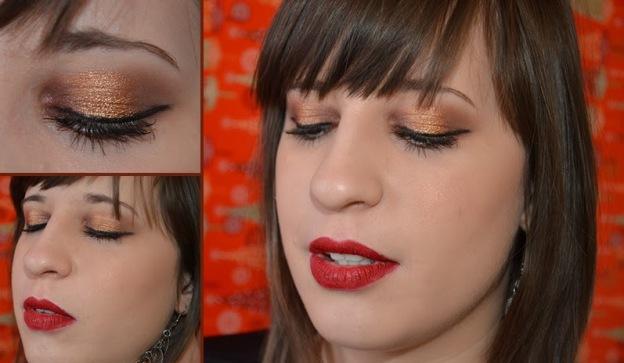 tutorial makeup natalizio