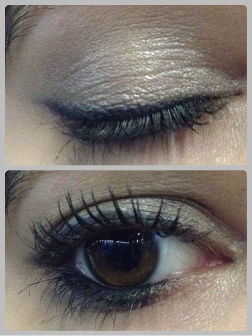 tutorial smokey eyes grigio