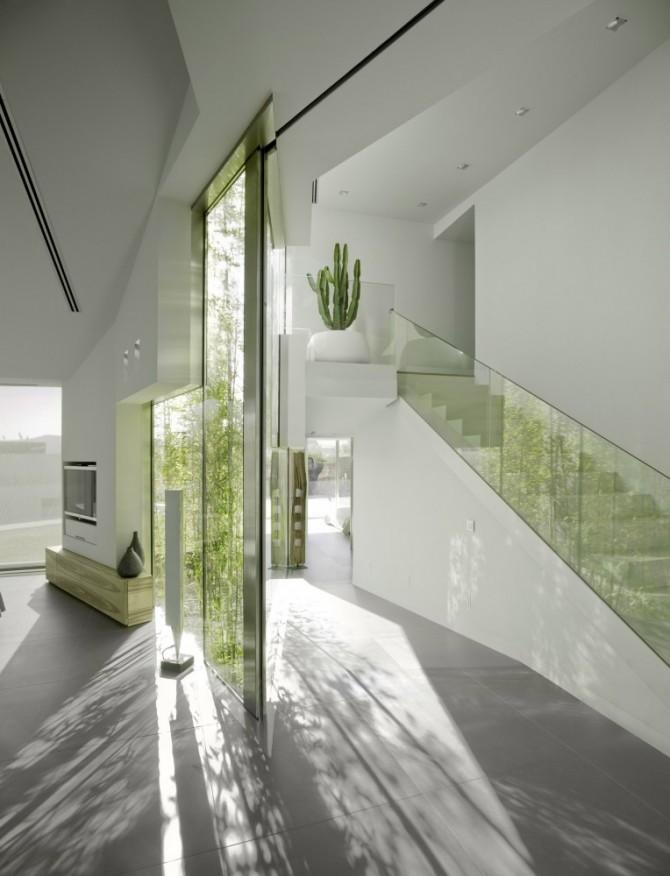 glass indoor look home