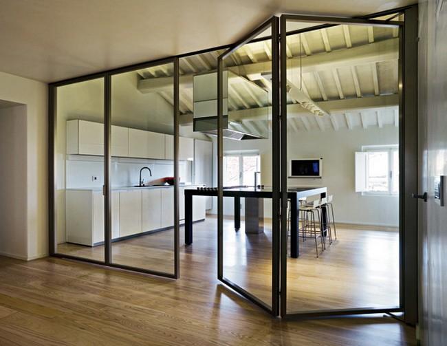 glass interiors light look home