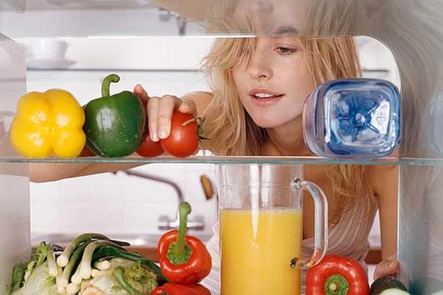 in the fridge look home