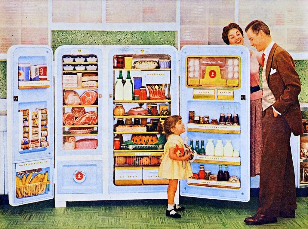 vintage fridge look home