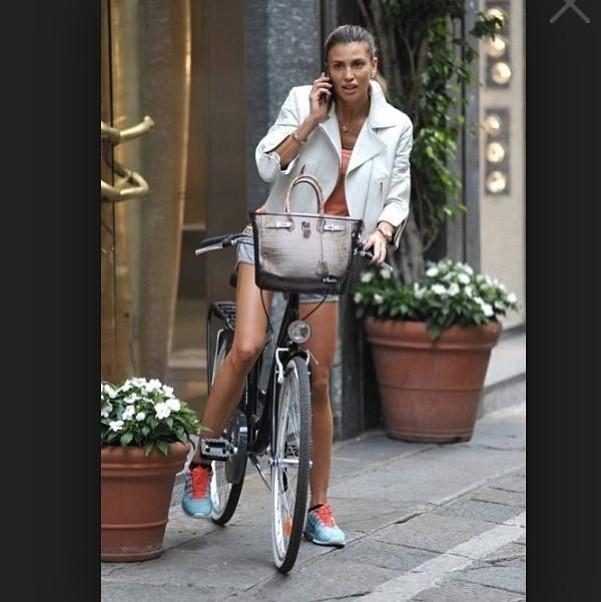 claudia galanti bici lifestile