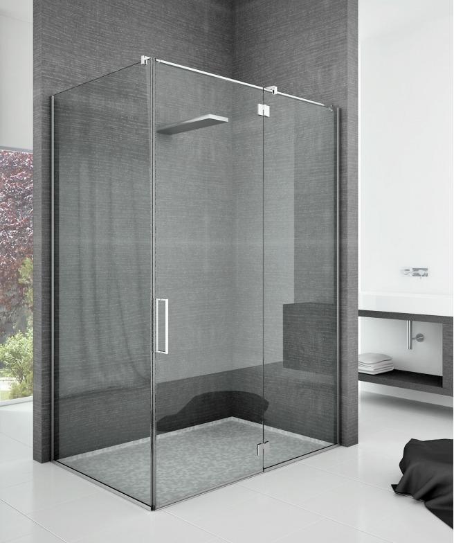 Box doccia con cerniere look home