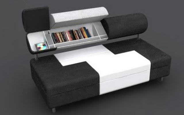 divano letto salvaspazio look home