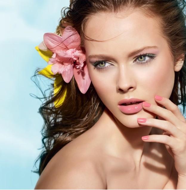tutorial makeup da spiaggia
