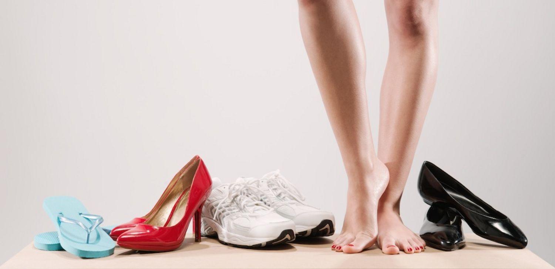 scarpe da valigia