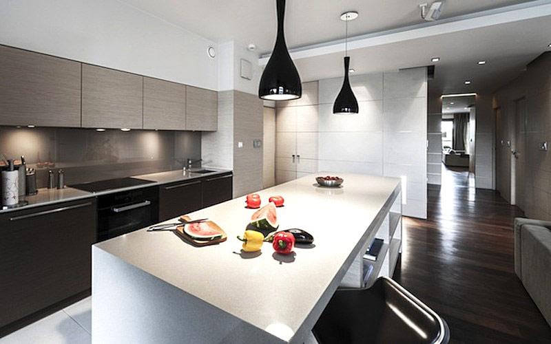 illuminazione cucina look home