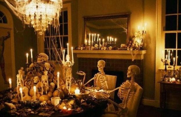 halloween cena horror look home