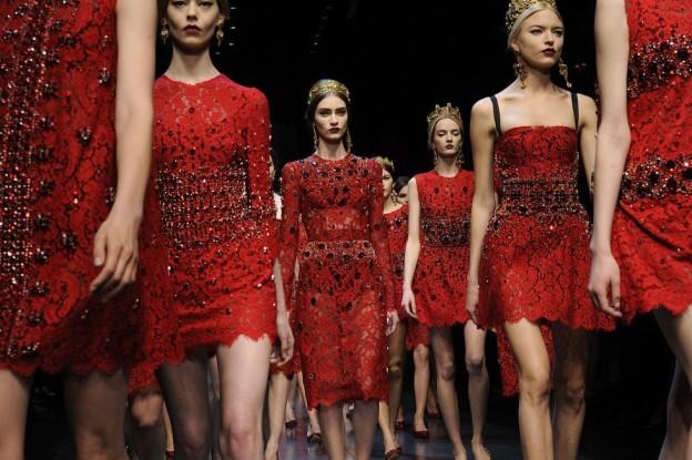 Come indossare il rosso durante le feste