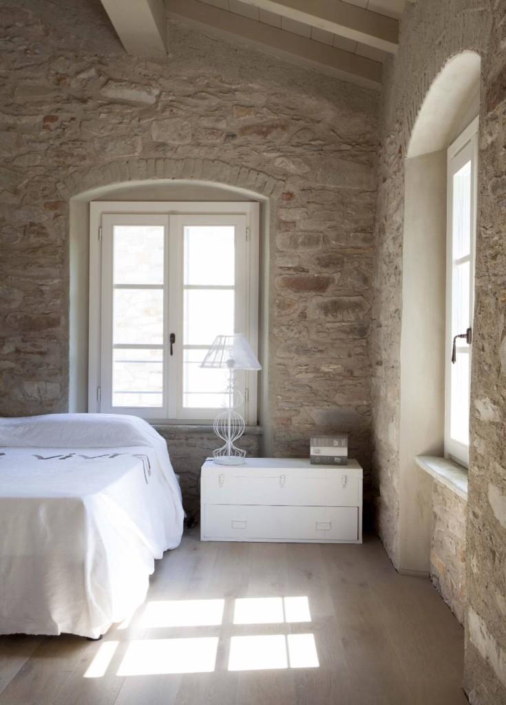 interni bianchi pietra naturale look home