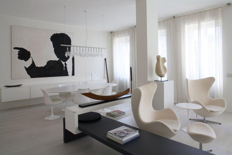 Total white per la casa blog for Casa moderna total white