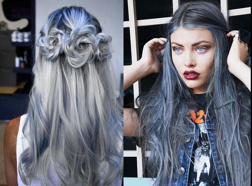 capelli grey blu