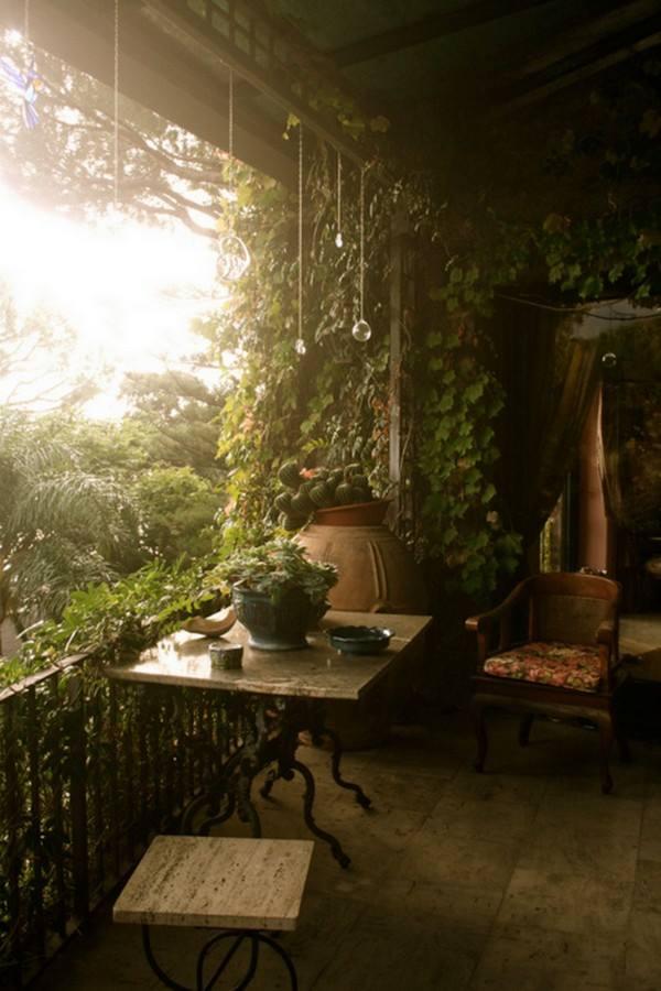 casa spirituale terrazzo look home