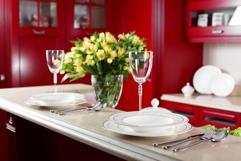 composizioni floreali cucina look home