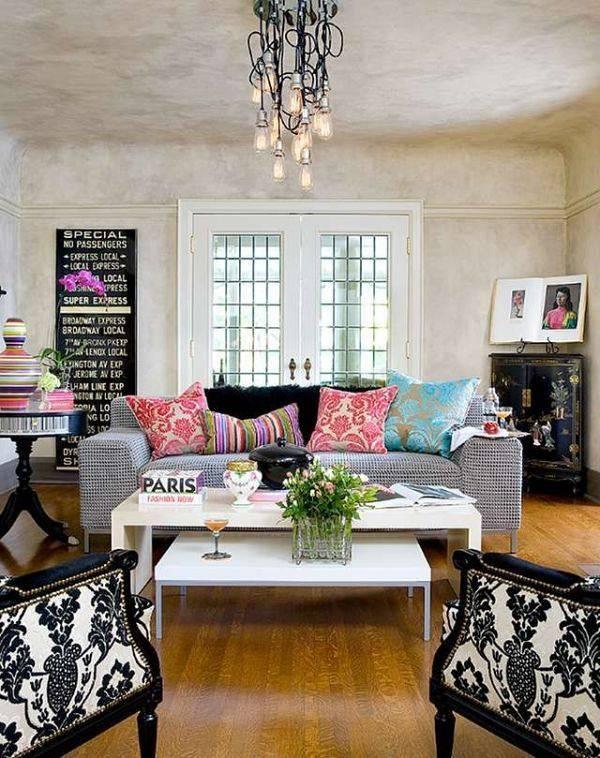 composizioni floreali soggiorno look home