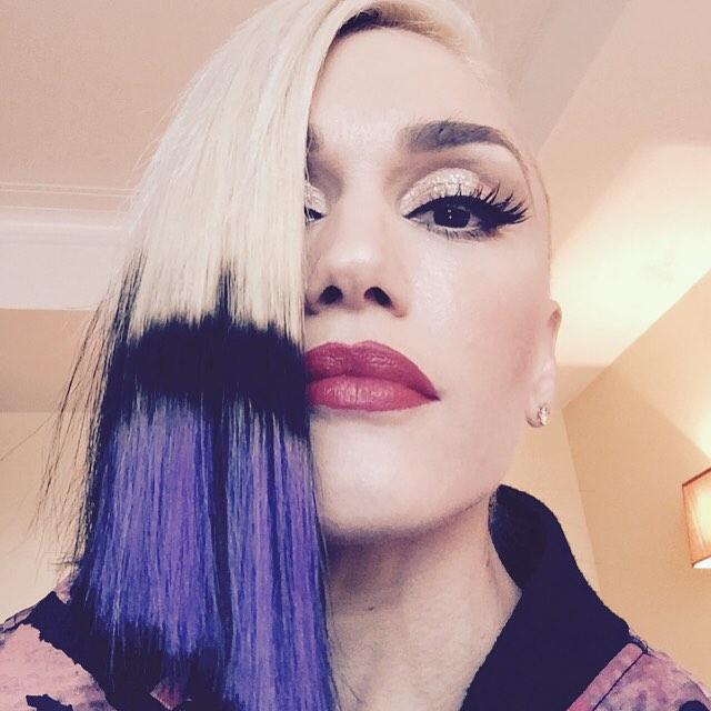 Gwen-Stefani-Purple-Dip-Dye-Hair