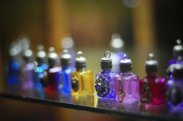 bottiglie profumo lifestyle