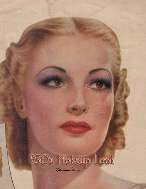 trucco anni 30