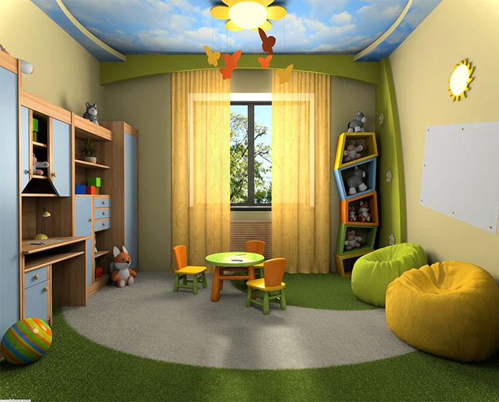 camera bambini giochi look home