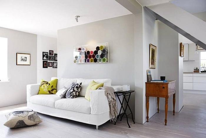 soggiorno in bianco look home