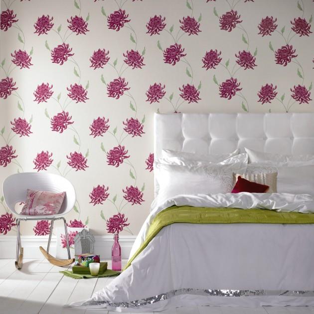 camera da letto floreale look home