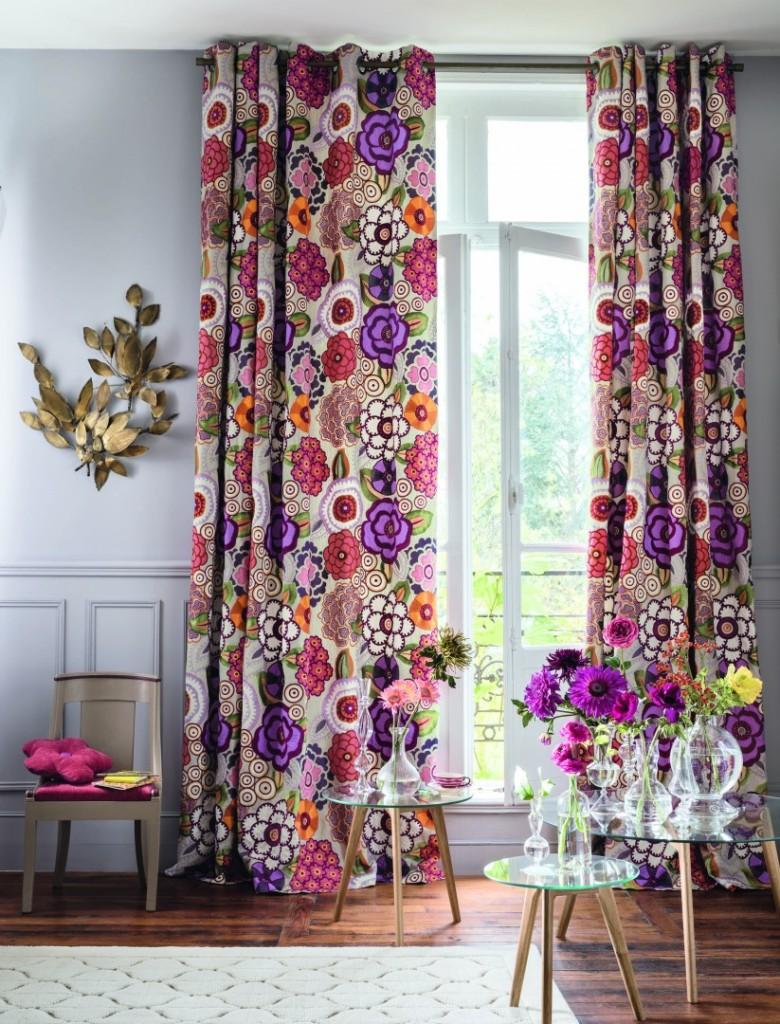 tendaggi floreali casa look home