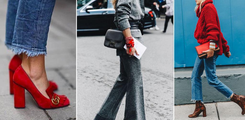 trend accessori rossi