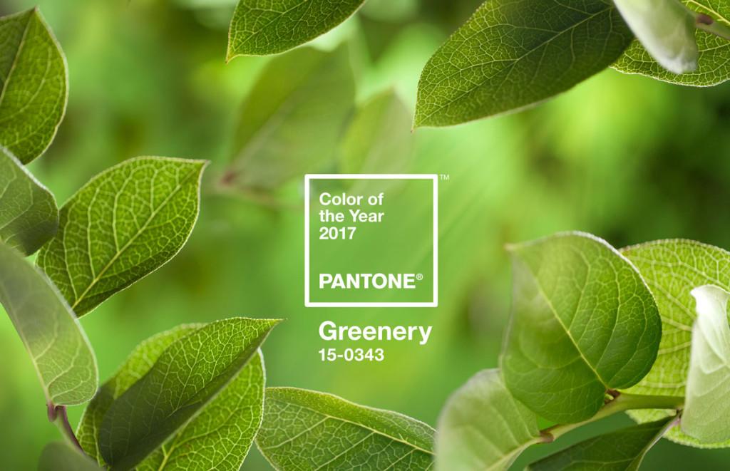 Greenery colore Pantone 2017